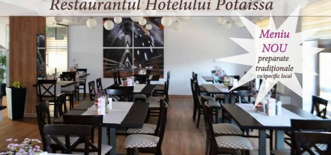 Se modifică programul de funcționare la Restaurantul Hotelului Potaissa