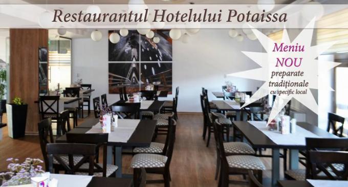 Restaurantul Hotelului Potaissa se deschide pentru publicul larg