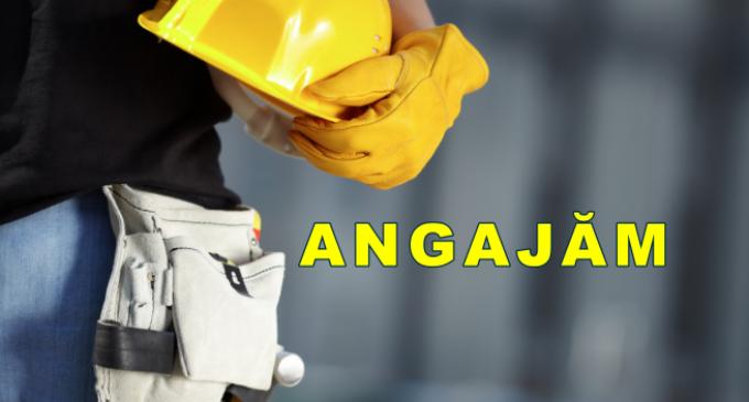 Companie locală ce activează în domeniul construcțiilor angajează pe mai multe posturi