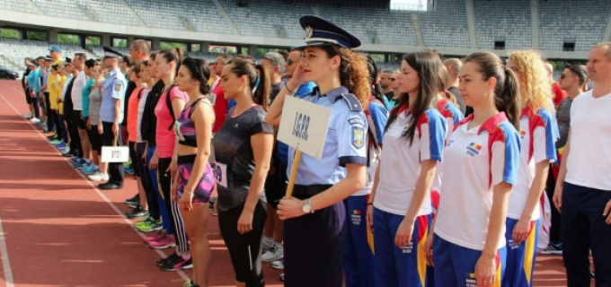 Ministerul Afacerilor Interne a organizat cea de-a 28-a ediție a Campionatului de atletism și cros la Cluj