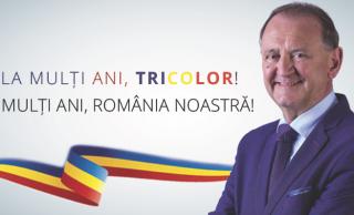 Mesajul Primarului Cristian Octavian Matei,  cu ocazia Zilei Drapelului Național