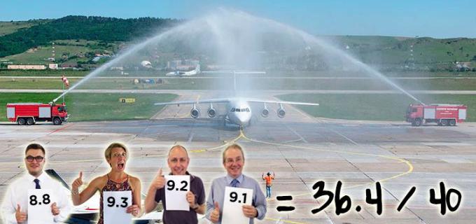 """RECORD DE PASAGERI PE AEROPORTUL INTERNAȚIONAL """"AVRAM IANCU"""" CLUJ ȘI UN NOU PREMIU ANNA.AERO"""