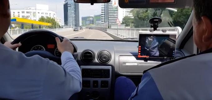 VIDEO – Proba practică a examenului auto va fi înregistrată