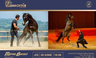 Miron Bococi și alti 6 acrobati din Africa vor face spectacol joi, 29 iunie, la ZARACATAN