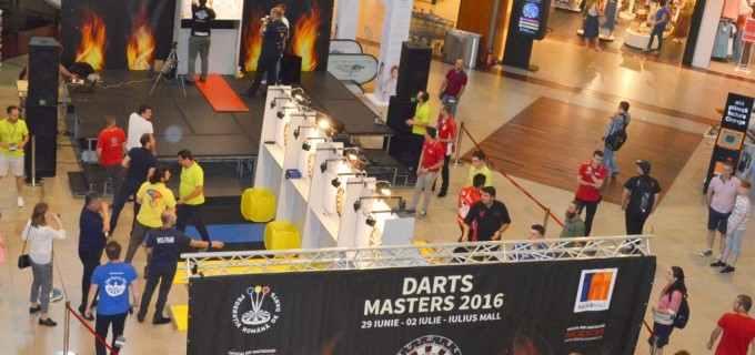 Ultima etapă a Campionatului Național de Darts se desfășoară în aceste zile la Iulius Mall Cluj