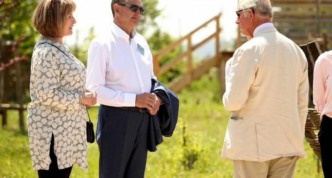 Primarul Cristian Matei s-a întâlnit cu Prințul Charles la Turda