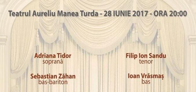 """Casa de Cultură Turda organizează evenimentul cultural """"Opera la Turda""""."""