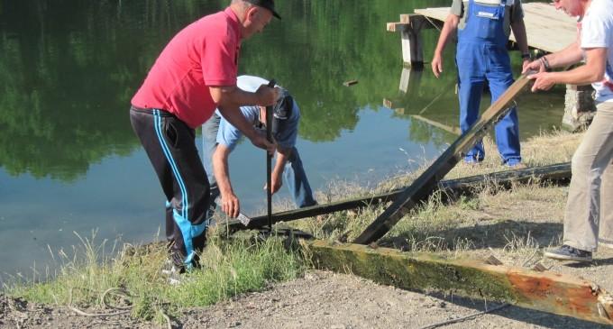 Primăria Turda continuă lucrările de amenajare a lacurilor Tarzan și Csiki