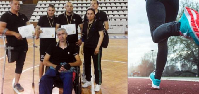 19 medalii obținute de sportivii cu dizabilități din Turda la Campionatele Naționale de Atletism și Tenis de Masă