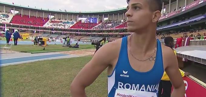 Turdeanul Samuel Bucșă, medalie de bronz la săritura în lungime la Campionatul Mondial U18