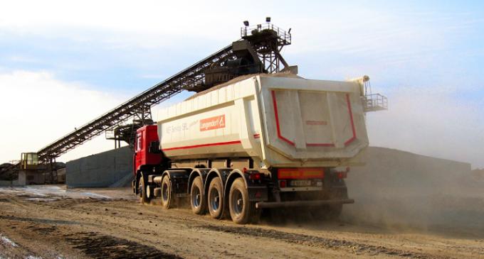 Se caută ȘOFERI pentru șantierul autostrăzii Turda-Sebeș