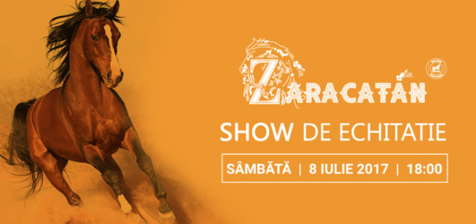 O nouă reprezentație pe strada Zaracatan: cel mai frumos show de echitație din România se joacă din nou în weekend!