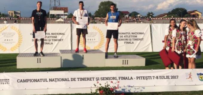 Performanta pentru sportivii turdeni: Samuel Bucșa este Campion National la săritura în lungime, iar Florin Biro este Vicecampion National la obstacole