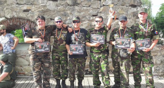 ACS Ludus Dacicus, medalie de bronz la Patrula Airsoft Romania 2017