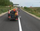 Lucrări de marcaje rutiere pe drumul judeţean 107L Turda – Sănduleşti – Petreştii de Jos