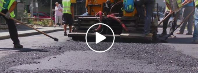 Cartierele Turzii, în plin proces de asfaltare! Au început lucrările și în cartierul Micro 1