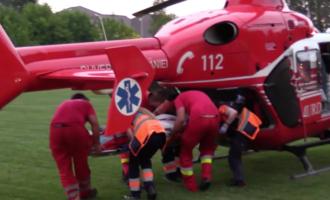VIDEO: ISU Cluj a anuntat Planul Roșu de interventie! Accident grav între un autocar și un autoturism