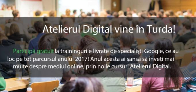 Google România și Fundația LEADERS vin cu Atelierul Digital la TURDA