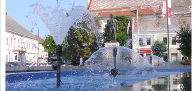 VIDEO: Fântânile arteziene din centrul orașului au fost renovate!