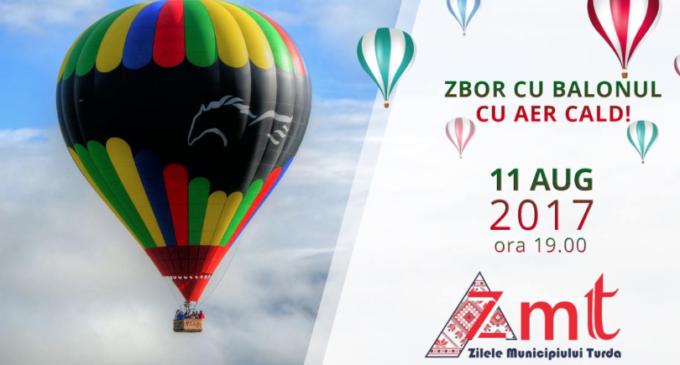 Zbor cu balonul cu aer cald, la ZMT 2017!