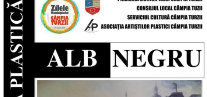 """Vernisaj în cadrul ZILELOR MUNICIPIULUI CÂMPIA TURZII – """"ALB NEGRU"""""""