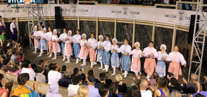 "VIDEO: Festivalul International ""Serbările Transilvane"" în Mina Rudolf din Salina Turda"