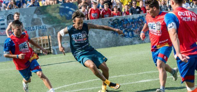 Clujenii de la TAO United au câștigat pentru România, titlul de campioană mondială Neymar Jr's Five 2017