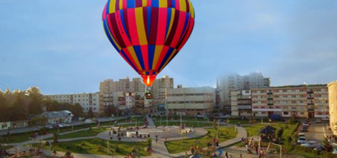 Noutăți la Zilele Municipiului Turda: Un balon cu aer cald de mari dimensiuni, în premieră la ZMT