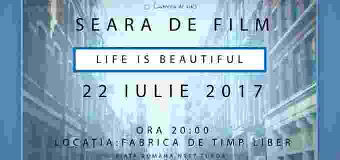 Seară de film organizată de Asociația Camera de Sus Turda