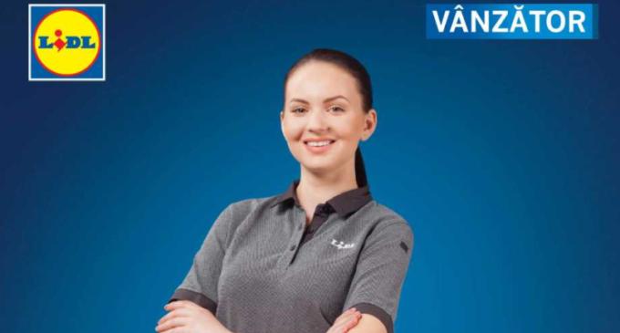 Lidl angajează vânzător pentru magazinul din Turda