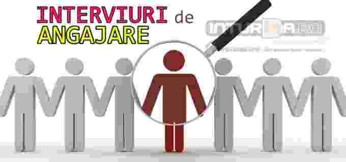 Vineri, 01 septembrie: Interviuri de ANGAJARE la sediul CCOFM Turda. Salariu de încadrare:1600 lei