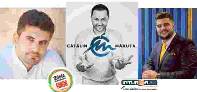 Prezentatori de exceptie la Zilele Municipiului Câmpia Turzii 2017: CĂTĂLIN MĂRUTĂ, Bob Rădulescu și Adrian Soporan