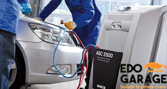EDO GARAGE:Verificare instalatie, igienizare cu ozon si incarcare cufreon