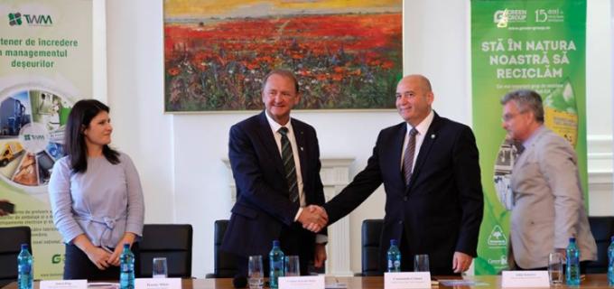 """Primarul Matei Cristian: """"Turda va beneficia de cele mai moderne sisteme de colectare selectivă a deșeurilor"""""""