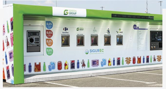 VIDEO: La Turda au fost instalate încă trei stații inteligente pentru colectarea deșeurilor