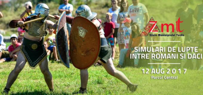 Războinicii daci și romani, într-o luptă ca în filme la ZMT!