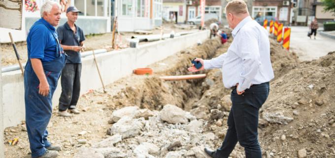 """VIDEO: Proiectele administratie locale încep să prindă contur. Dorin Lojigan: """"Toată zona centrală își va schimba aspectul!"""""""