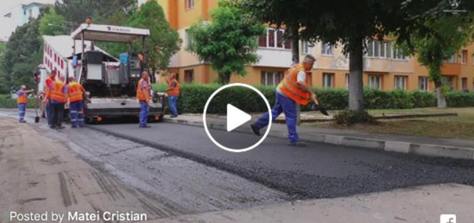 Lucrările de pe Strada Rapsodiei și zona Pietei Micro 1 vor fi finalizate în acestă săptămână