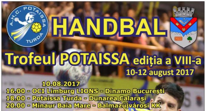 Joi, 10 august, se vor disputa primele meciuri pentru Trofeul Potaissa