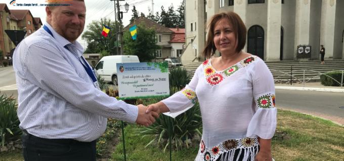 VIDEO/Foto: Administratia locală din Câmpia Turzii își onorează partenerii