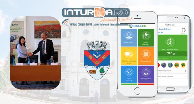 În curând la Turda vei putea să chemi la tine acasă SIGUREC Mobil, primul taxi gratuit de reciclare