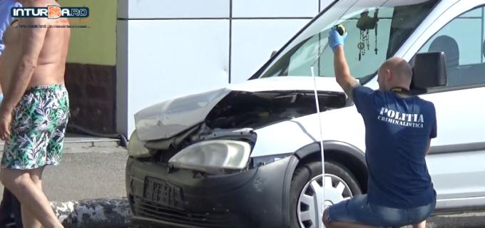 VIDEO: Accident rutier soldat cu o victimă în zona magazinului LIDL