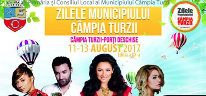 """PROGRAM Zilele Municipiului Câmpia Turzii – Ziua """"Micilor Ghirișeni"""" și Ziua """"Folclorului"""""""