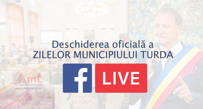 Deschiderea OFICIALĂ a Zilelor Municipiului Turda, LIVE pe inTurda.ro