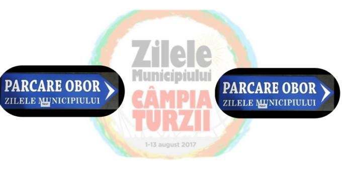 Parcare pregatita special pentru Zilele Municipiului Campia Turzii
