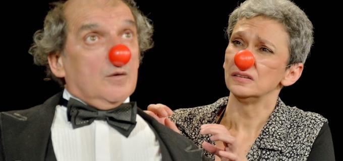 Oana Pellea și Sandu Gruia în Festivalul International de Teatru de la Turda