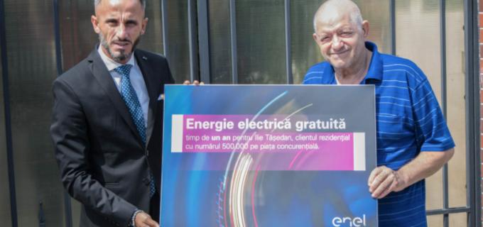 Energie electrică gratuită timp de un an de zile pentru un client Enel