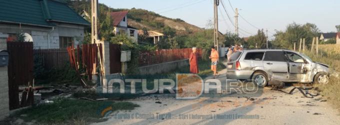 Foto: Accident rutier pe strada Petru Maior! Valoarea pagubelor a fost estimată la circa 7000 lei