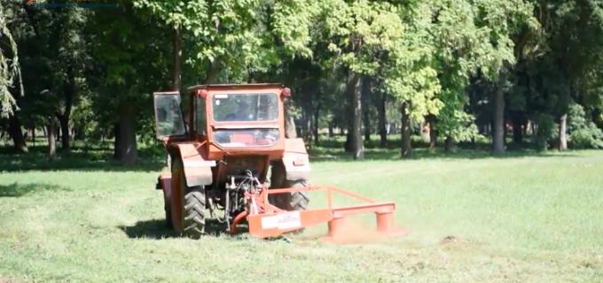 VIDEO: Primăria Câmpia Turzii a amenjat o zonă a parcului Berc care era neutilizabilă