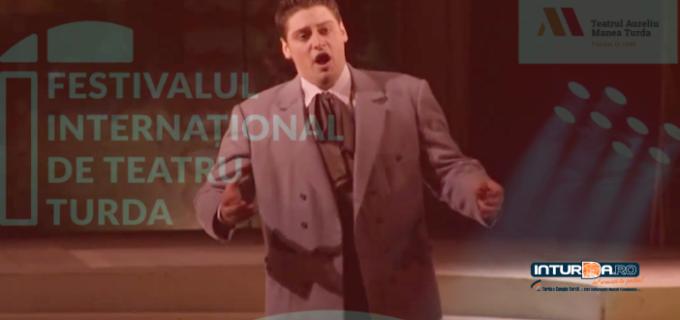 Opera Nationala din București vine la Turda în cadrul F.I.T.T. Tenorul Alin Stoica va încânta publicul turdean